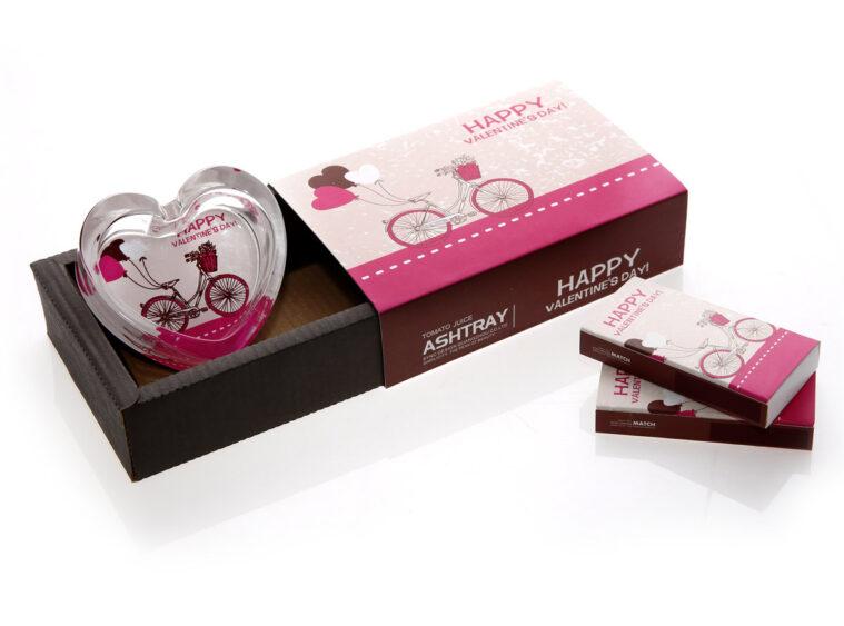 Τασακι καρδια gift pack