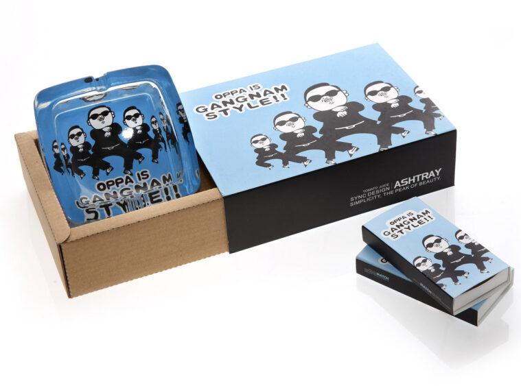 Τασακι τετραγωνο gift pack