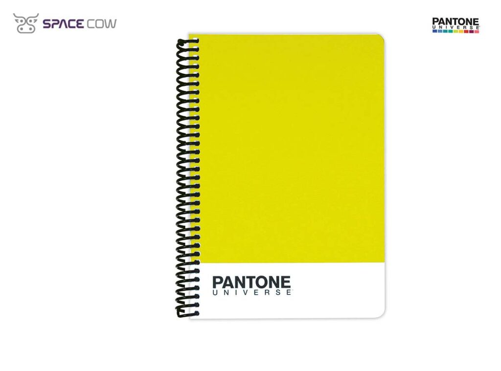 Τετράδιο Pantone Universe σπιράλ Α5 κίτρινο