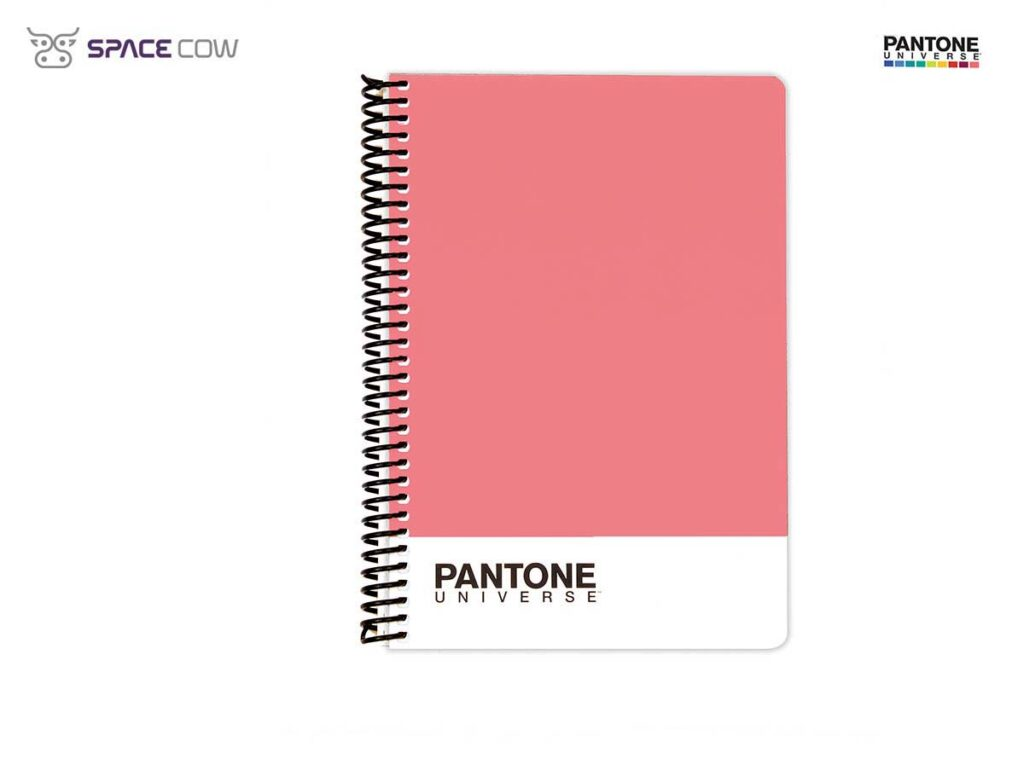 Τετράδιο Pantone Universe σπιράλ Α5 ρόζ