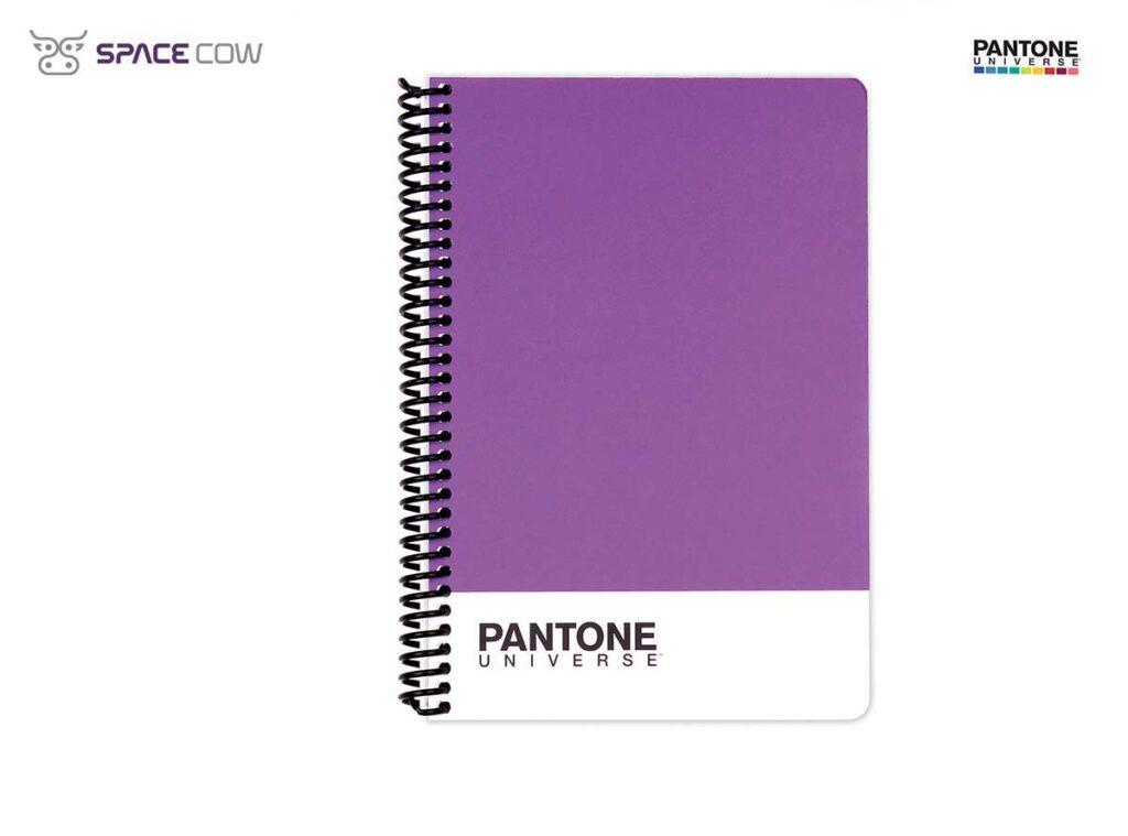 Τετράδιο Pantone Universe σπιράλ Α5 μώβ