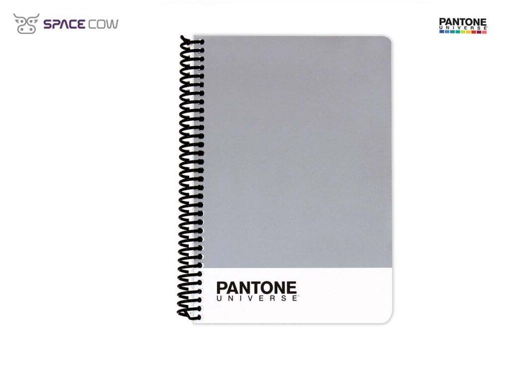 Τετράδιο Pantone Universe σπιράλ Α5 γκρί
