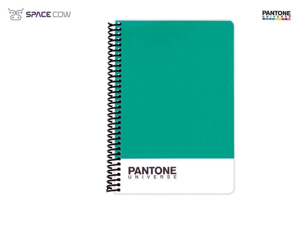 Τετράδιο Pantone Universe σπιράλ Α5 τιρκουάζ