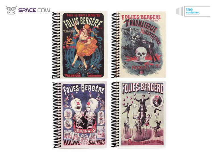 Τετράδια The Container Folies Bergere