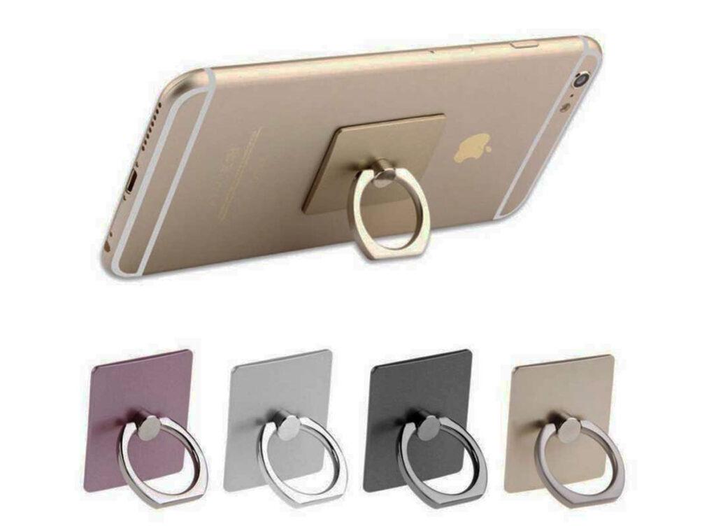 Δακτυλίδι & βάση στήριξης κινητού τετράγωνα