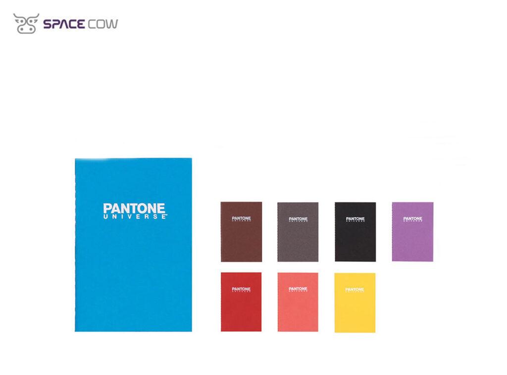 Μπλοκάκια Pantone Universe τσέπης με χρώματα