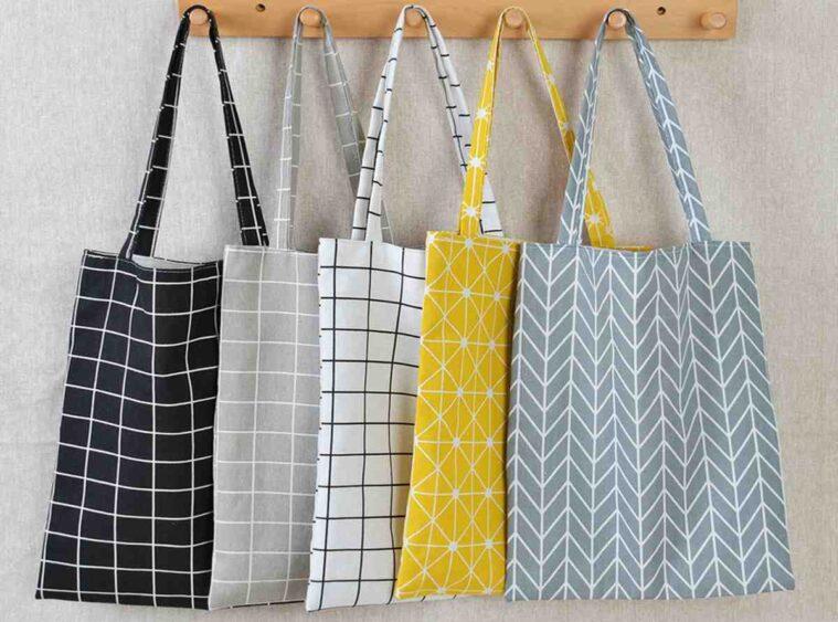 Shopping bag υφασμάτινη