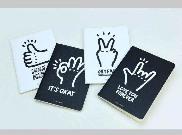 Σημειωματαρια fingers